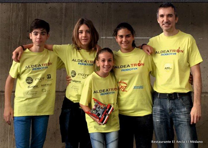 El equipo tinerfeño, patrocinado por DIALPRIX, participará en junio en el campeonato internacional de laFIRSTLEGO League