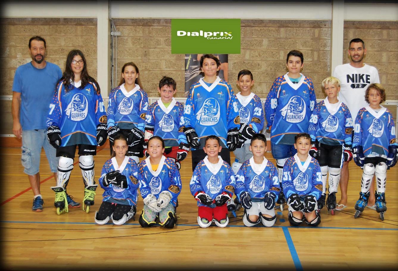 DIALPRIX CANARIAS apoya al equipo alevín del Tenerife Guanche Hockey Club.
