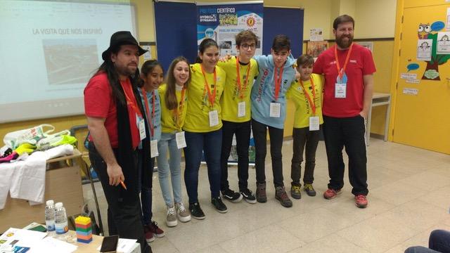 Aldeatrón Robotix, de Las Galletas, logra su participación en el mundial de la FIRST LEGO League